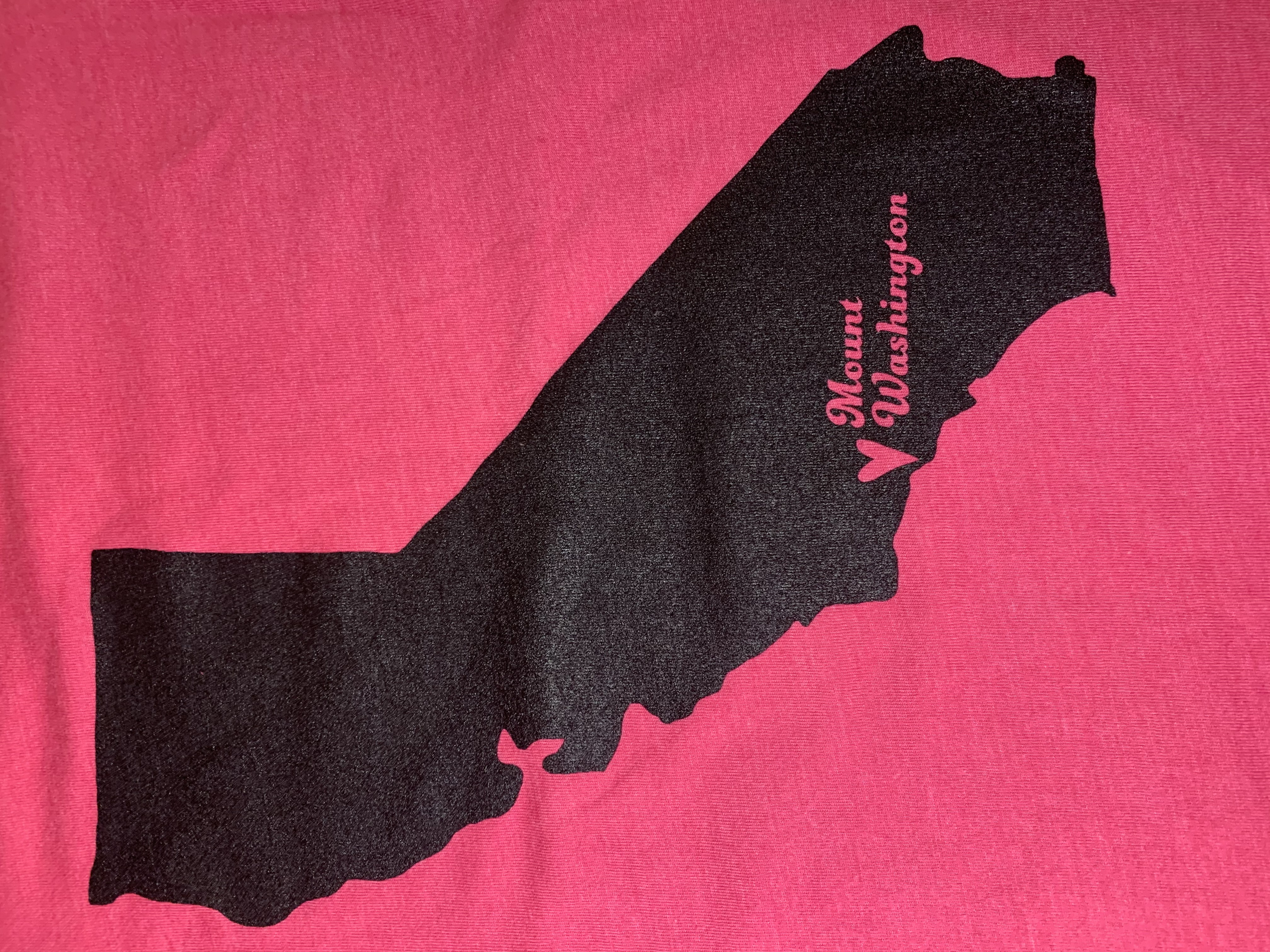 Toddler and Youth Crewneck Tee - Raspberry/Black MW Hearts California